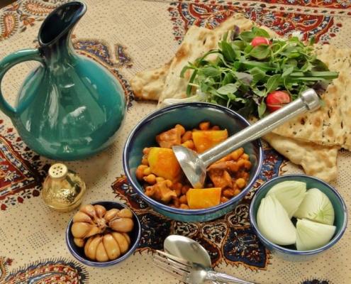 غذاهای سنتی کاشان
